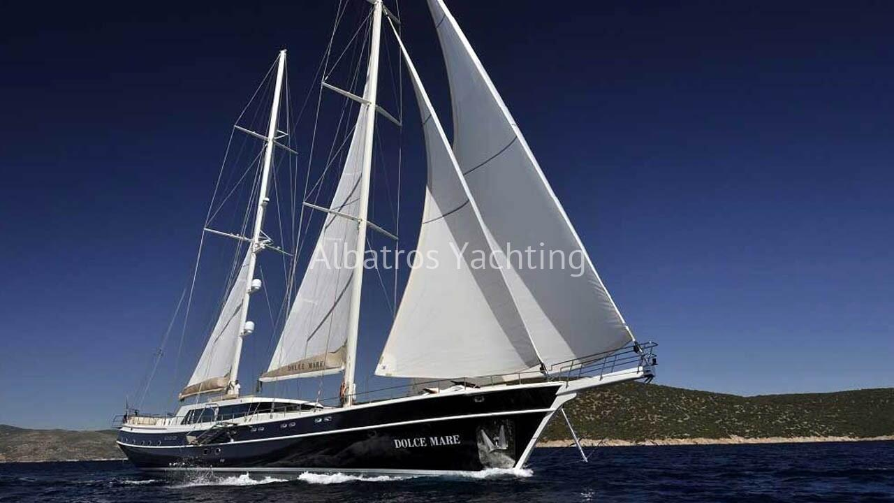 Gulet Dolce Mare is one of the best yachts in Turkish shipyards. - Albatros