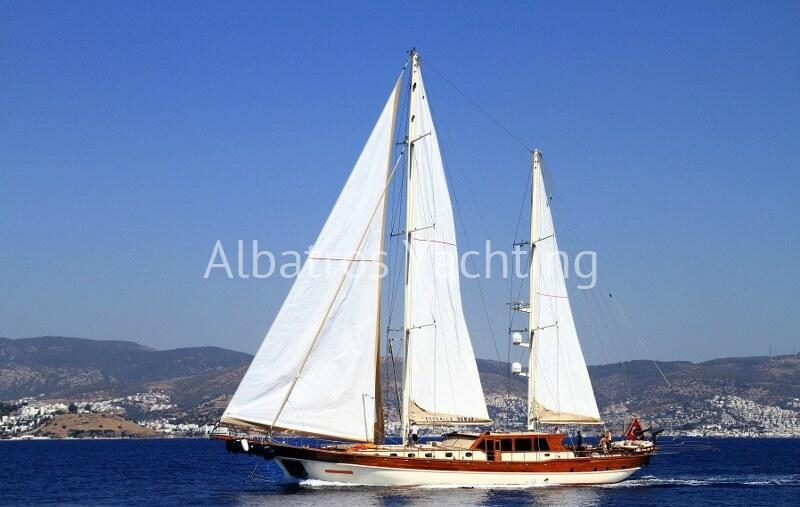 Estralla De Mar is a Deluxe Gulet Yacht based in Bodrum  - Albatros