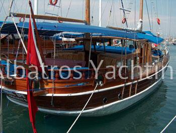Start your cruise either from Fethiye with gulet Cemal Efe  - Albatros
