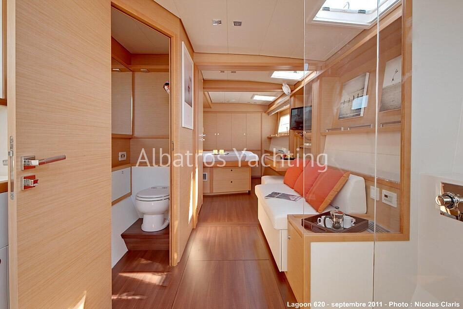 Lagoon 620 is 2012 luxury sailing boat . - Albatros