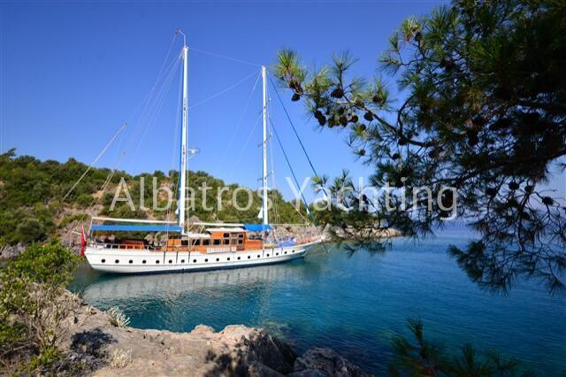 K-5 is a 6 double cabin luxury gulet based in Fethiye  - Albatros