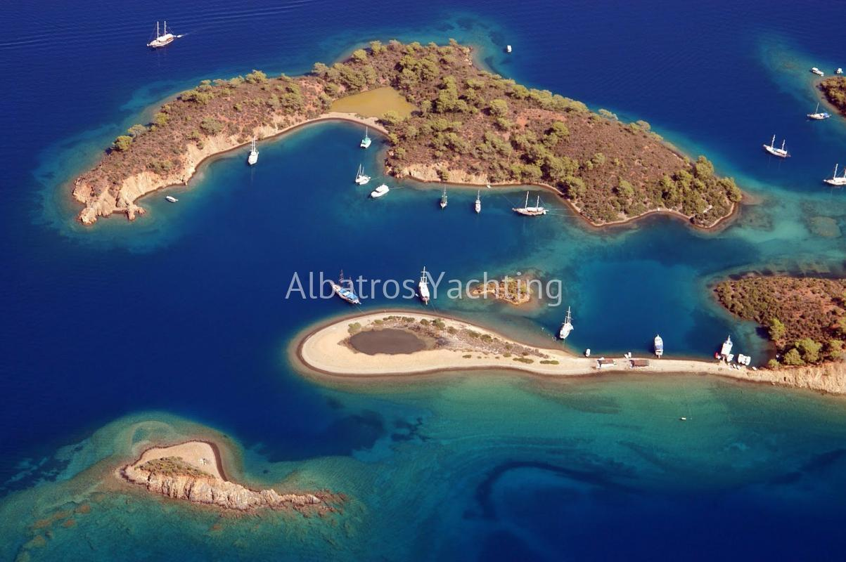 Cabin Charter,Marmaris- Fethiye-Marmaris 8 day/7 Night - Albatros