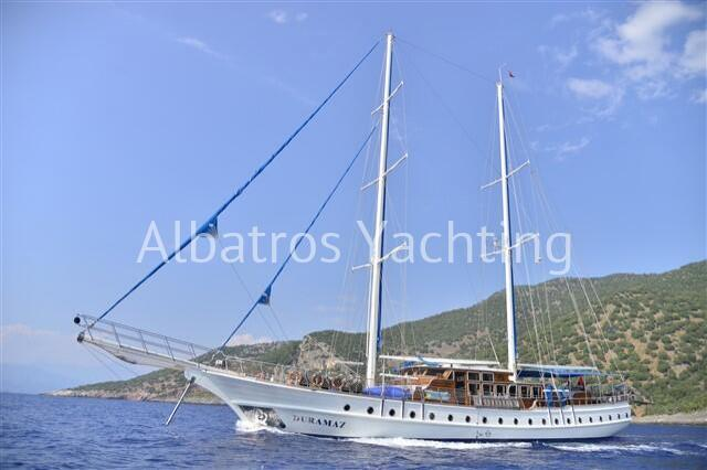 Duramaz is a Luxury 6 cabin yacht based in Fethiye  - Albatros