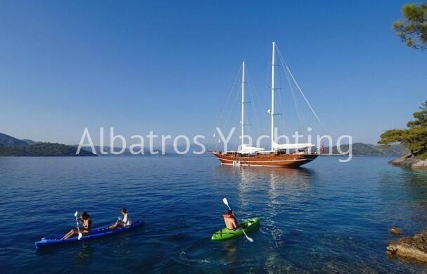 Depart from Fethiye and discover the 12 Island around Gocek - Albatros