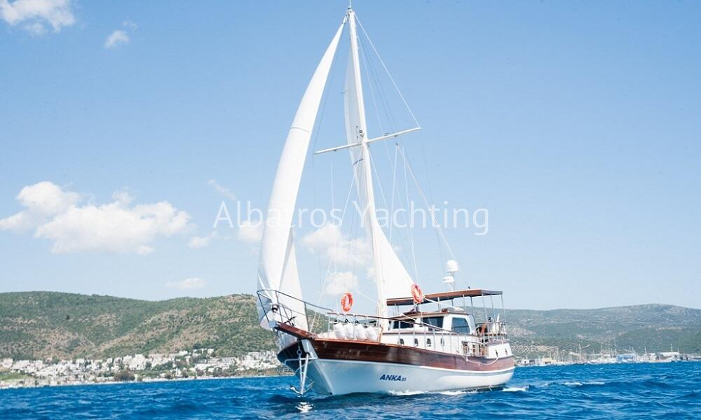 Anka 35 is almos a brand new gulet built in 2016. - Albatros