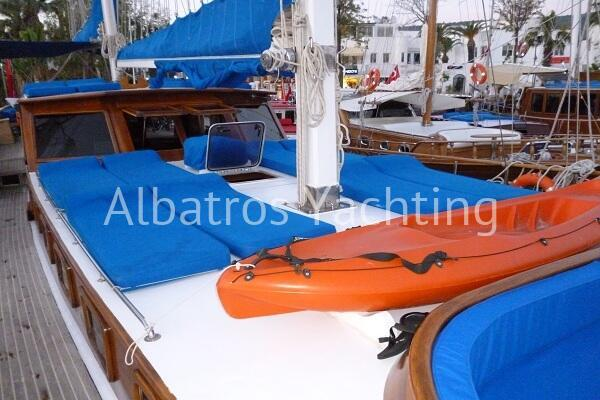Gulet Alcatraz is an economic 6 cabin yacht. - Albatros