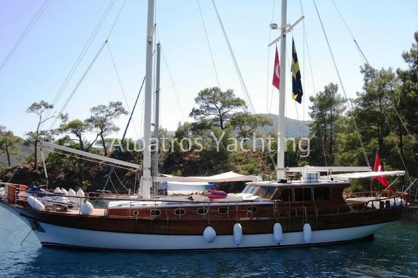 Gulet Sofia is an economic gulet based in Marmaris   - Albatros