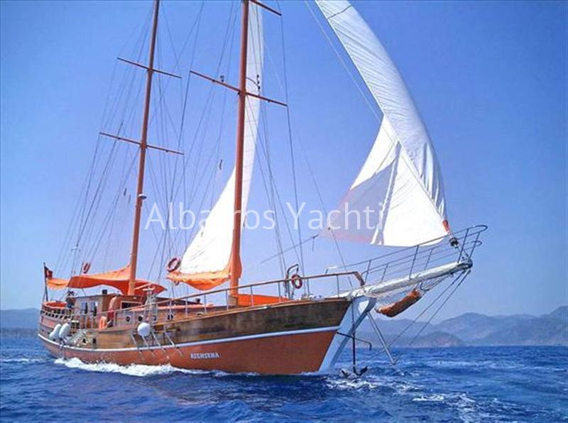 Asensena is 6 cabin luxury gulet based in Marmaris  - Albatros