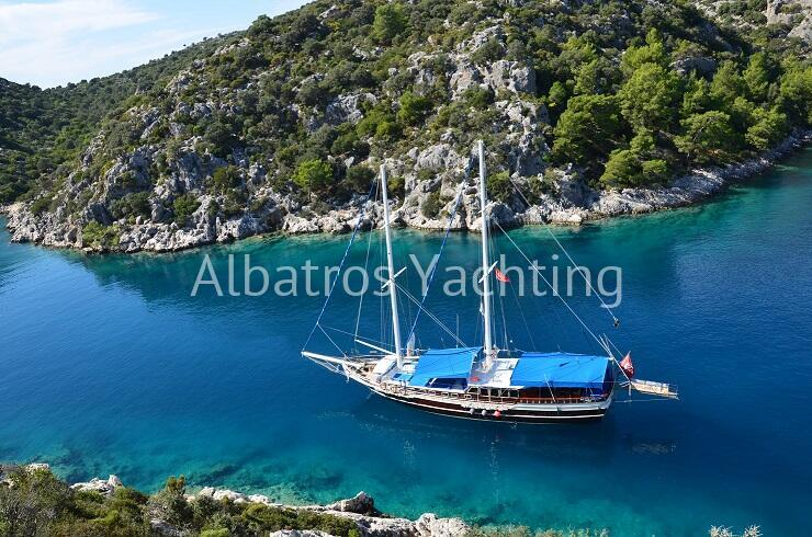 Go-1 is a standart gulet based in Fethiye. - Albatros