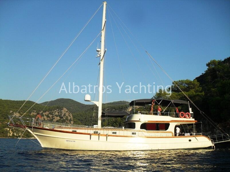 Gulet Sea Dancer is a beautiful design luxury yacht. - Albatros