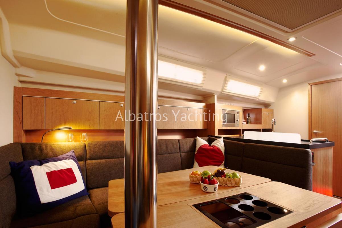 Hanse 415, yacht charter in Turkey - Albatros