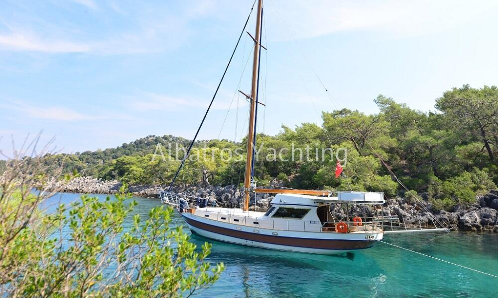 Gulet Kaşıkçı, sailing in Turkey - Albatros