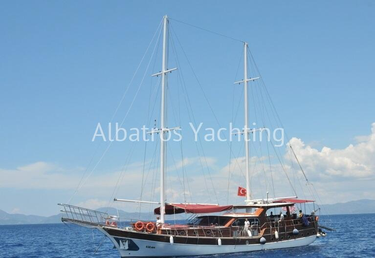 Titan Gulet 2 master and 2 double cabins in our luxury category. - Albatros
