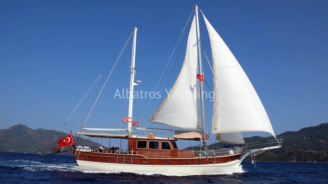 Aura is a charming 4 cabin 22m gulet built in 2012 - Albatros