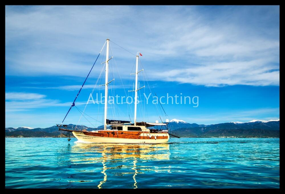 Albatros  A is a Deluxe Gulet Yacht,built in 2011 with 4 cabin. - Albatros