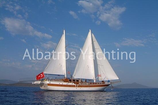 Gulet Fatos, blue cruise yacht holidays in Turkey - Albatros