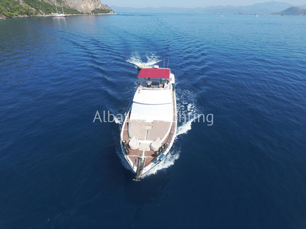 Lovely Lila motoyacht rental in Turkey. - Albatros