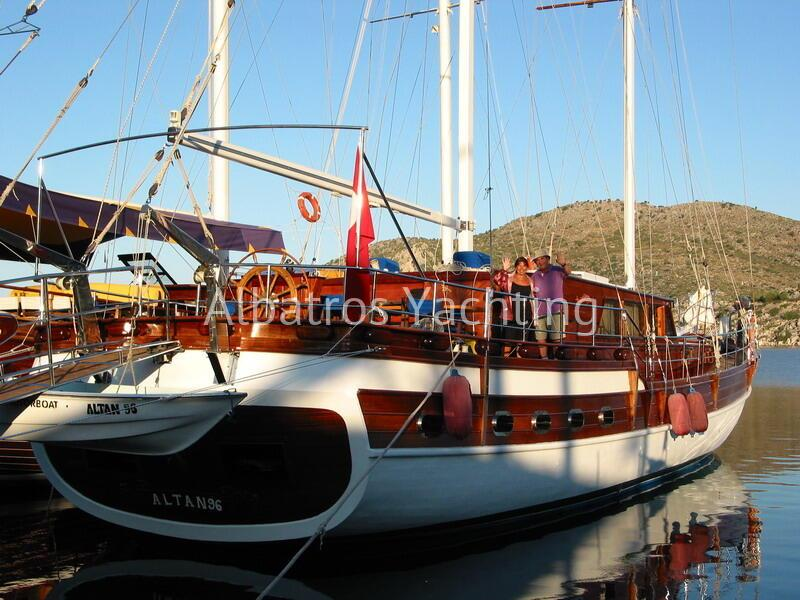 Gulet Altan 96, sailing holidays in Turkey - Albatros
