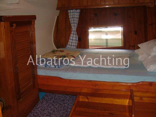 Gulet Xanthos 3 is a stylish gulet available for rental from Bodr - Albatros