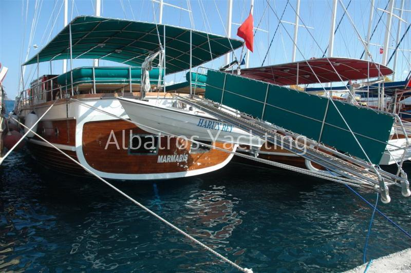 Harun Bey is a 29 M gulet based in Marmaris - Albatros