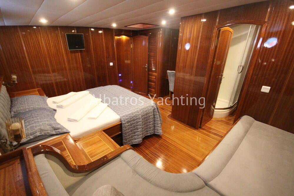Diamond Li is a Deluxe Gulet yacht luxury designed  with 6 cabin. - Albatros