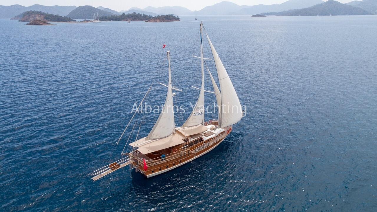 Sail Albatros Ceylan gulet from Fethiye or Gocek for your sailing - Albatros