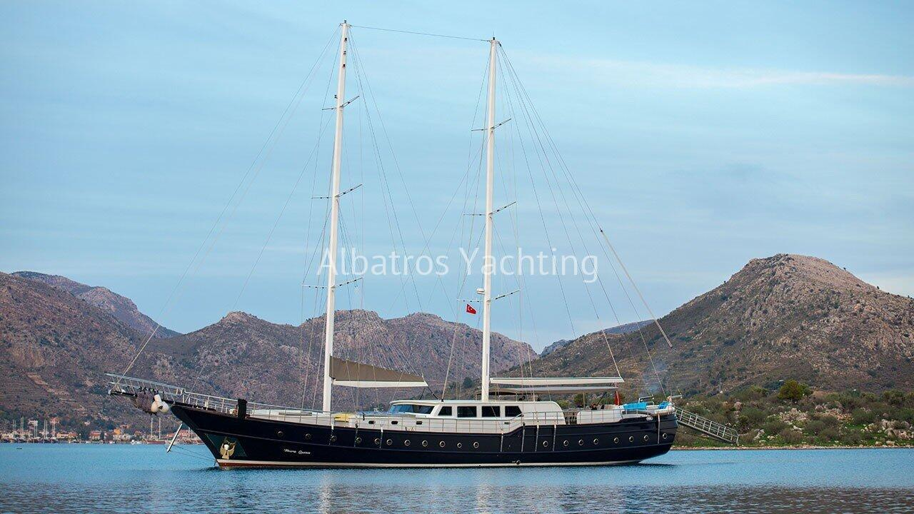 Nevra Queen Gulet Yacht is 40 meters long and can accommodate 20  - Albatros