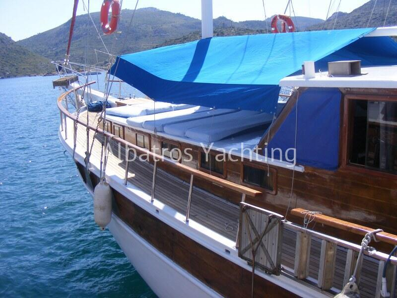 The gulet Eymen Bey is an economical boat  - Albatros